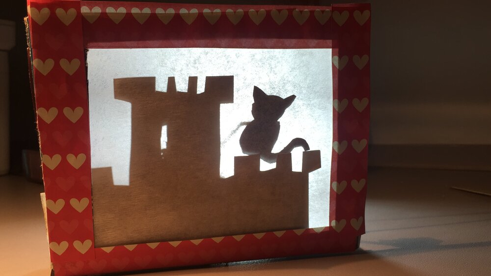Completed+tiny+shadow+puppet+theatre