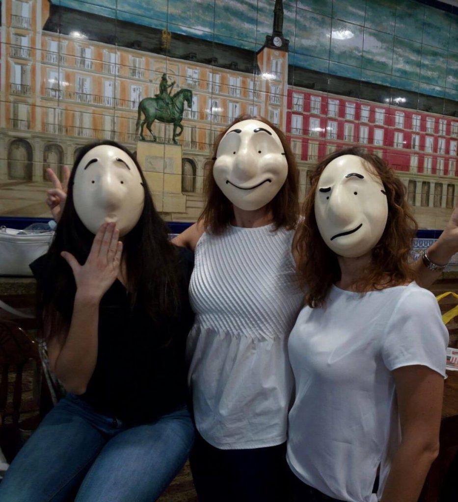 mask workshop for teachers